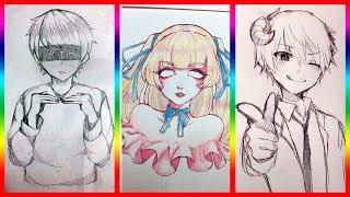 【ティックトック イラスト】ック絵 - Tik Tok Paint Anime #12