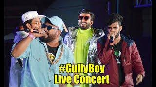 #GullyBoy Live Concert | Ranveer Singh, Naezy, Divine | Gully Boy Full Album Launch