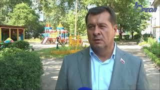 Ореол-ТВ: Депутат Олег Зеваков инспектирует закрытую школу №3 в Сланцах, которая требует ремонта
