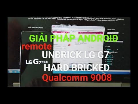 update Android 9 Pie unbrick LG G7 ThinQ stuck Firmware
