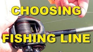 Choosing Fishing Line: Monofilament vs Braid vs Fluorocarbon | Bass Fishing