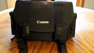 Canon DSLR Bag Review