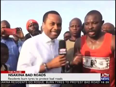 Nsakina Bad Roads - The Pulse on JoyNews (15-10-18)