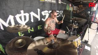 "Ryan Leger Every Time I Die ""Thirst"" Live"