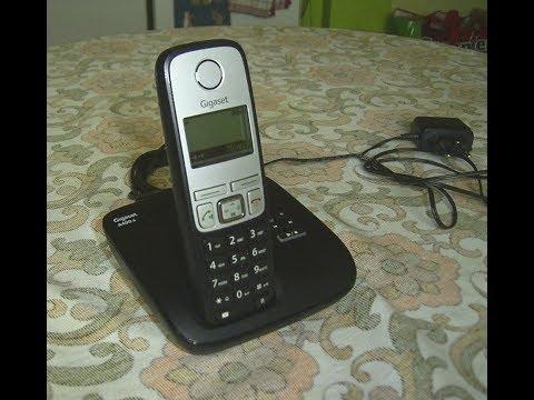 Funktionsprüfung  Telefon Gigaset A400A DECT Telefon mit Anrufbeantworter