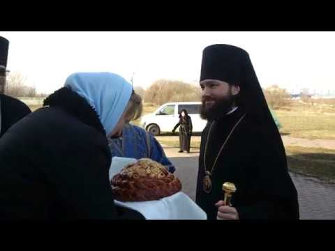 Епископ Петр Луховицкий в селе Тайнинском (Мытищи)