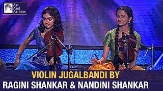 Ragini Shankar & Nandini Shankar   Violin Jugalbandi   Raag – Ahir Bhairav   Idea Jalsa