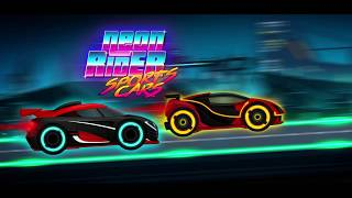 Car Games: Neon Rider Drives Sport Cars