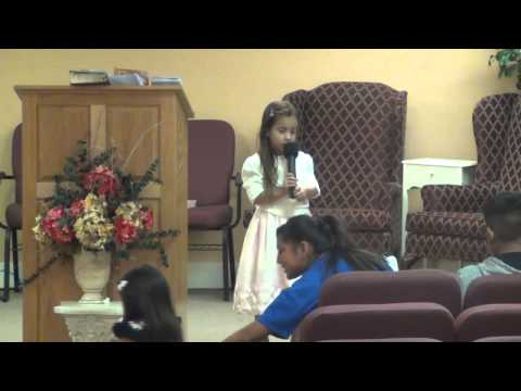 "Timothy Dunn — ""Naomi Martinez singing"" — Calvary Apostolic Church — Apostolic Outreach"