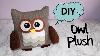 DIY Owl Plush!! | With Free Templates