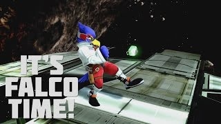 It's Falco Time! - A Falco Combo Video   Smash Bros Wii U 「by FR073N」