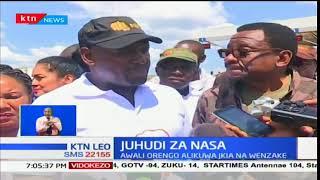 Mkutano wa viongozi wa NASA nje ya uwanja wa JKIA nusura utibuke baada yao kukabiliwa na polisi