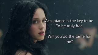 Katy Perry   Unconditionally | Lyrics