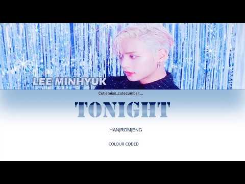 HUTA(LEEMINHYUK(이민혁)- TONIGHT (feat. Melody)  LYRICS COLOUR CODED