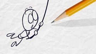 """Mood Swings"" Pencilmation Cartoon | Plus More Episodes!"