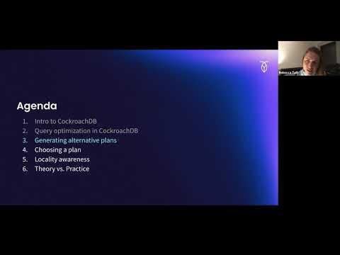 NWDS Talk - CockroachDB's Query Optimizer