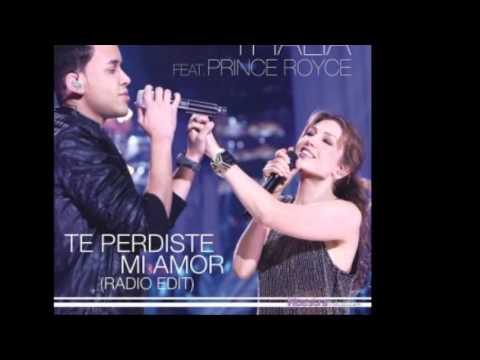 Prince Royce ft Thalia   Te Perdiste Mi Amor (Remix)