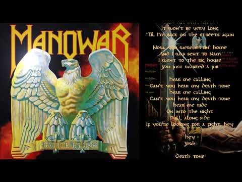 Manowar - Death Tone - Lyric Video