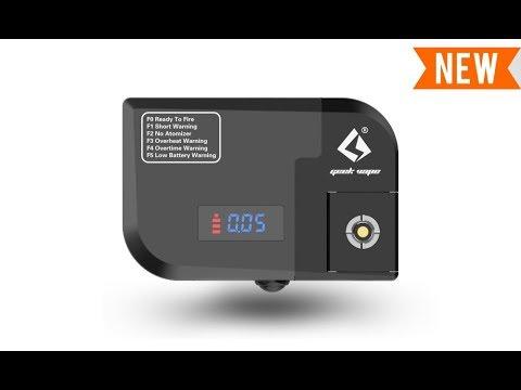 YouTube Video zu GeekVape Tab Pro Ohmmeter und Akkuträger mit 50 Watt