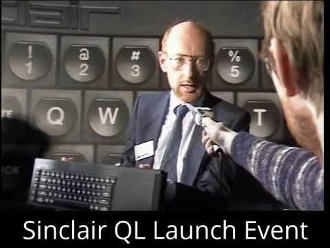 Sinclair QL Launch Press Conference 12.01.1984