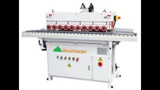 Máy Chà Nhám Cạnh Tự Động Woodmaster | Máy Chà Nhám Cạnh | Đại Phúc Vinh CNC