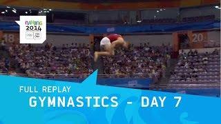 Gymnastics -Men/Women Individual Finals Day 7   Full Replay   Nanjing 2014 Youth Olympic Games