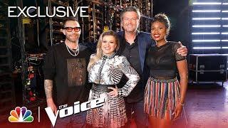 Kelly Clarkson, Jennifer Hudson, Adam Levine & Blake Shelton Knew They Made It When - The Voice 2018