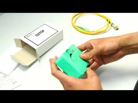 Video: NTTAT CLETOP Type B Fibre Cleaner for MU, LC and MT Connectors