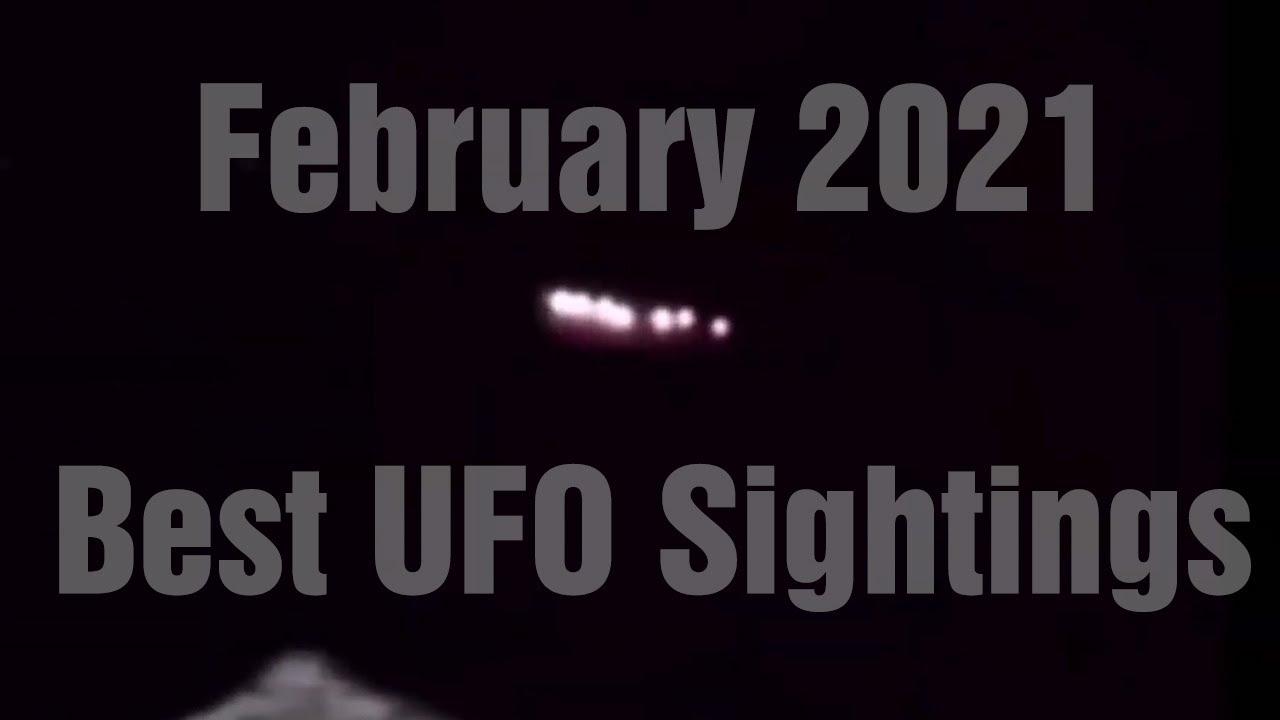 MEJORES vídeos OVNI | Febrero 2021