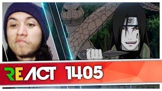 React 1405 Rap do Orochimaru (Naruto) | Tauz RapTributo 66