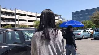 Woman tries to claim the Tesla is hers