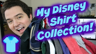 My Disney Shirt Collection!