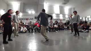 慶應義塾大学【北関東パスタ愛好会】 vs 日本体育大学【Funka Beat Squad】 BEST4 / DANCE@LIVE 2017 RIZE KANTO CLIMAX