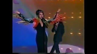 Eurovision   Israel 1998   Dana International   Diva   Dress Rehearsal Clip
