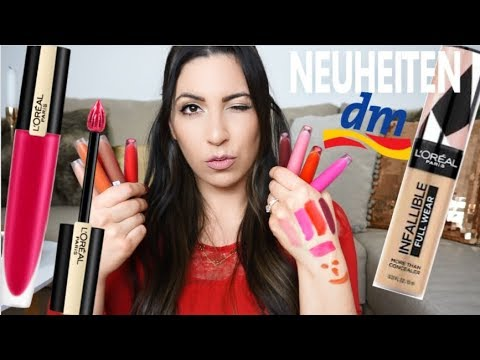 Krasse Drogerie Lippenstifte | Dm Drogerie Neuheiten |Loreal |MAYRA JOANN