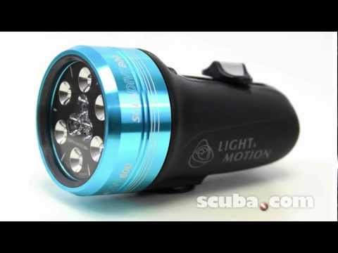 Light & Motion Sola Dive 800 L.E.D. Hands Free Dive Light Video Review