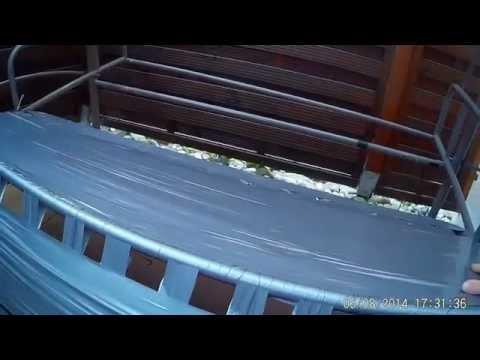 Hollywoodschaukel Reparatur mit Panzerband