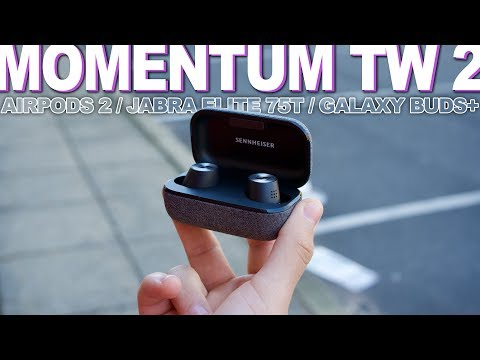 External Review Video OGT-lixyX1g for Sennheiser MOMENTUM True Wireless 2 Earphones