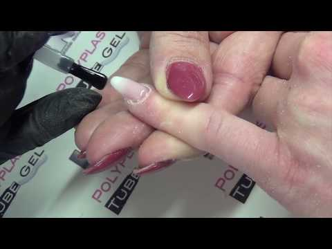 Polyplast Baby Boomer mit Popit Tube Gel - Poly Gel Acryl Gel UV Acrylgel Polygel