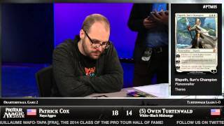 Pro Tour Magic 2015 - Quarterfinals - Pat Cox vs. Owen Turtenwald