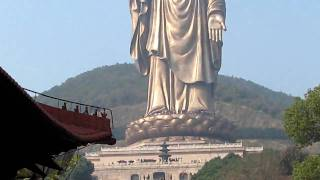 Video : China : The Giant Buddha at LingShan Temple near WuXi 无锡 - video