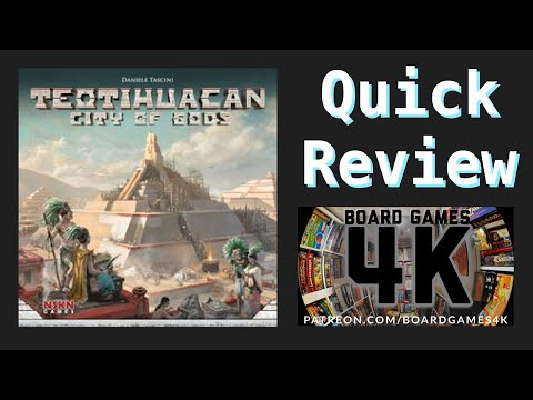 Teotihuacan : City of Gods - First Play Thoughts Review