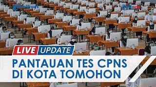 Wakil Wali Kota Tomohon Pantau Hari Pertama Ujian CPNS 2021, Beri Motivasi Penyemangat untuk Peserta