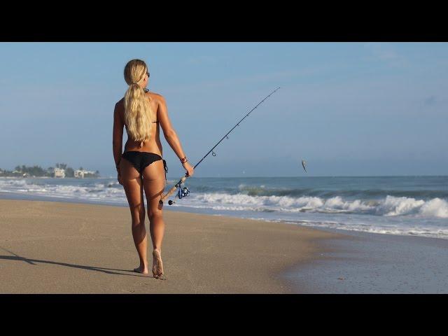 Beach Fishing & How To Kayak Out SHARK Baits