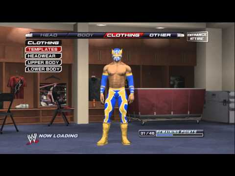 Download How to make Sin Cara ( Mistico ) On WWE Smackdown VS Raw 2011 / SVR 2011 ( tutorial ) HD Mp4 3GP Video and MP3