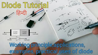 Basic electronics for beginners Diode | Electronic component Tutorial