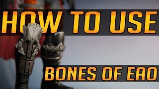 How to Use: Bones of Eao (In-Depth Tips, Techniques, Hunter Skating)