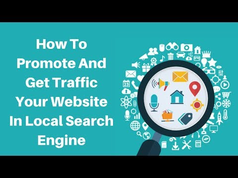 How to promote and get traffic your website in local seo search engine