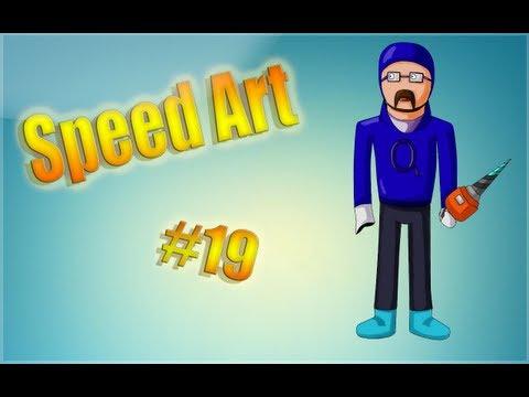 Speed Art #19 [Minecraft] ( для QuickBASICmen )