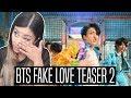 BTS (방탄소년단) 'FAKE LOVE' TEASER 2 REACTION   Breaking down teaser